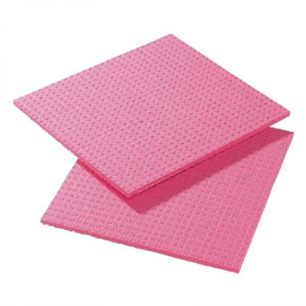 Spongyl Reinigungstücher rot; Inhalt: 10 Stück