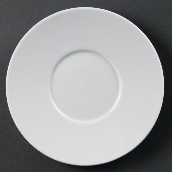 Olympia Whiteware Untertassen für CD735; Inhalt: 12 Stück