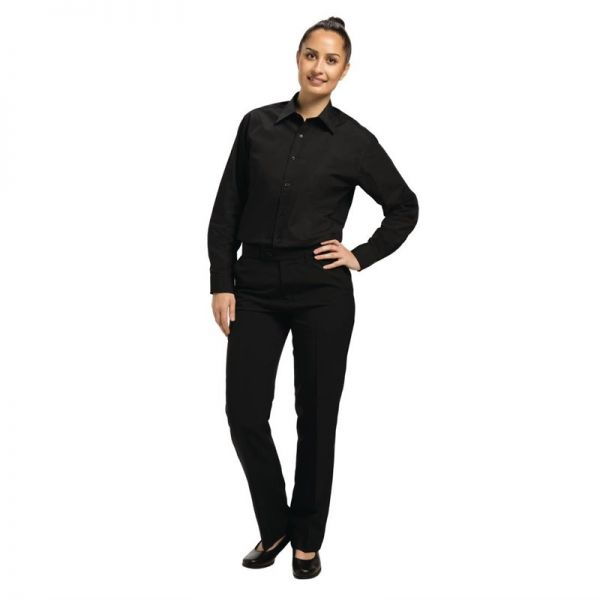Uniform Works Unisex Oberhemd schwarz S