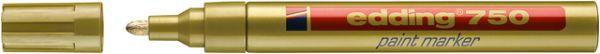 Lackmarker, 750, Rundspitze, 2 - 4 mm, Schreibf.: gold