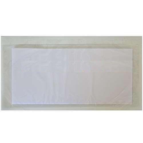 1000 Warenbegleitpapiertaschen neutral DIN lang