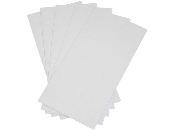 1000 Stück Briefumschläge 110x220 mm weiß, ohne Fenster