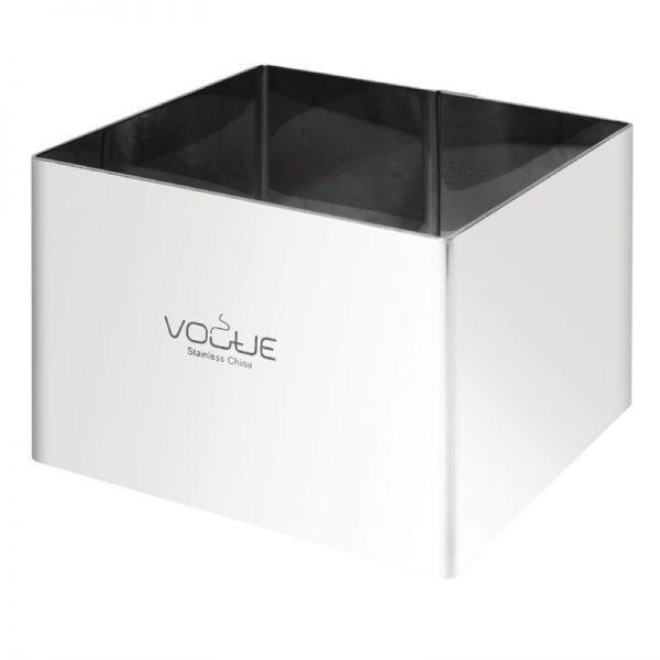 Vogue viereckiger Moussering 80x60(T)mm