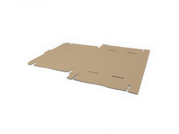 10 Stück: 350x250x50 mm Maxibrief Karton (Außenmaß)