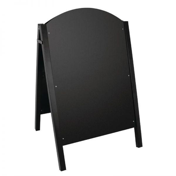 Olympia Straßentafel Metall schwarz
