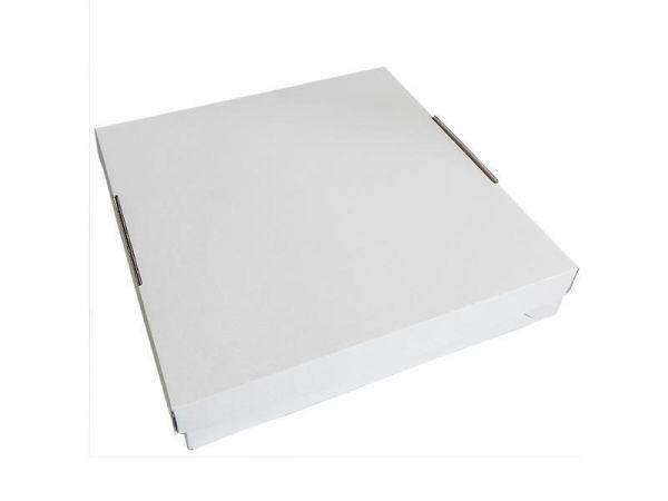 50 Stück: 350x350x70 mm Tortenkarton