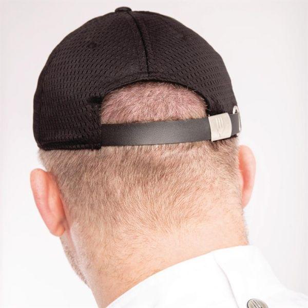 Chef Works Cool Vent Baseballcap schwarz blau
