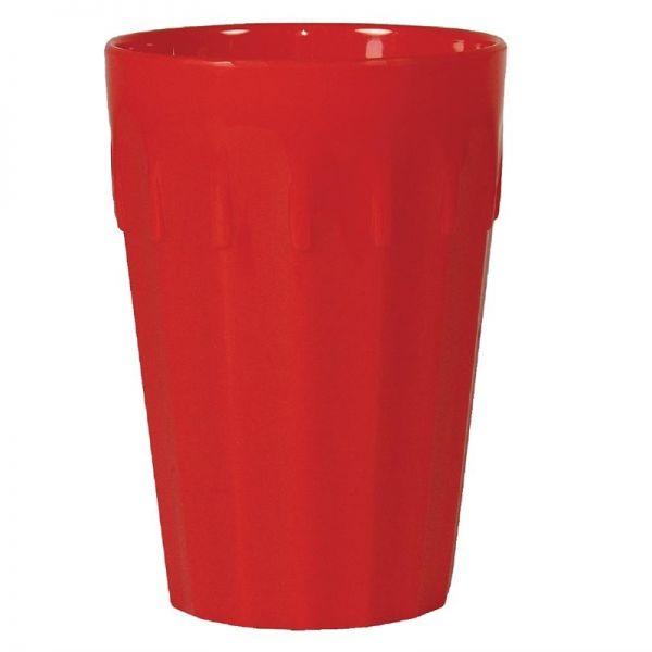 Kristallon Becher rot 26cl; Inhalt: 12 Stück