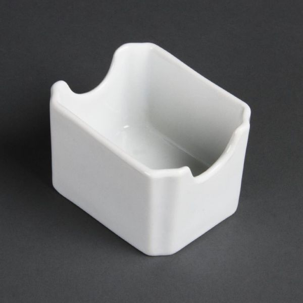 Olympia Whiteware Ständer für Zuckertüten; Inhalt: 6 Stück
