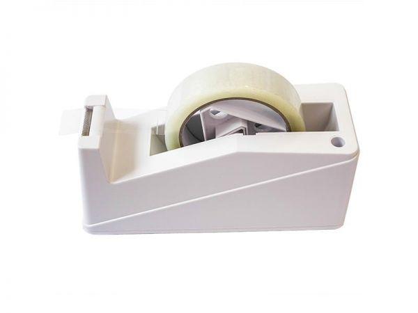 Tisch-Abroller bis 25 mm, weiß