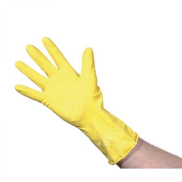 Jantex Haushaltshandschuhe gelb S