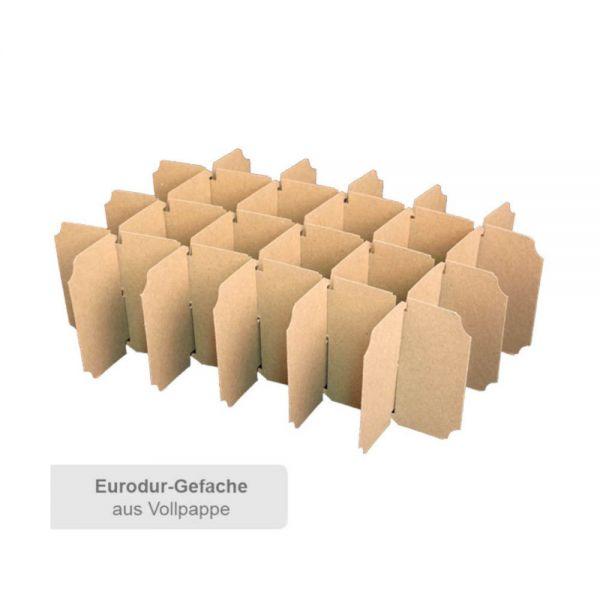 20 Stück: 353x235x210 mm 24er Export-Flaschenkarton ohne Gefache
