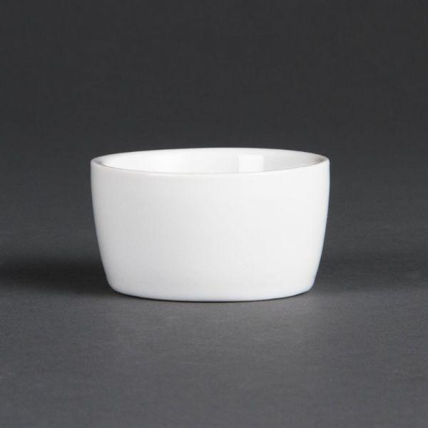 Olympia Whiteware Butternapf 6,4cm; Inhalt: 12 Stück