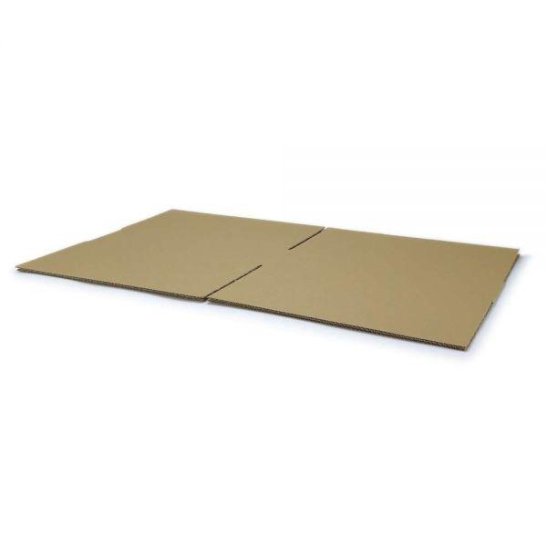 10 Stück: 400x400x100 mm einwellige Kartons