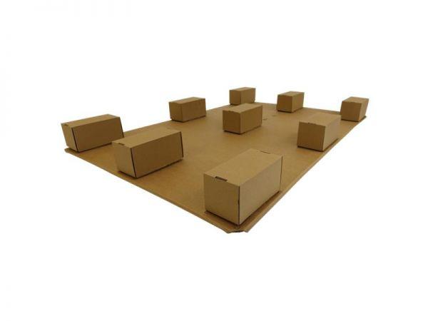 Paletten aus Karton mit Seitenschutz 1200x800x102 mm