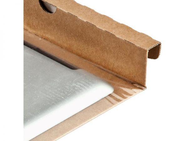 100 Stück: 230x165 mm Fixtray braun für Tablet 10´´ - ohne Umkarton