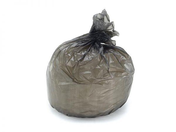 1000 LDPE Müllbeutel 30 Liter, 500x600 mm, grau