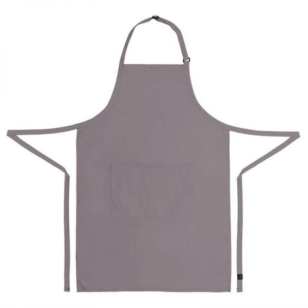 Chef Works verstellbare Latzschürze grau