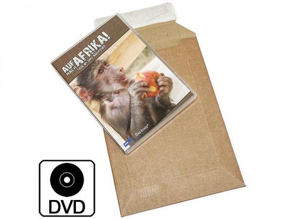 100 Stück: 250x150x0-50 mm DVD-Verpackung