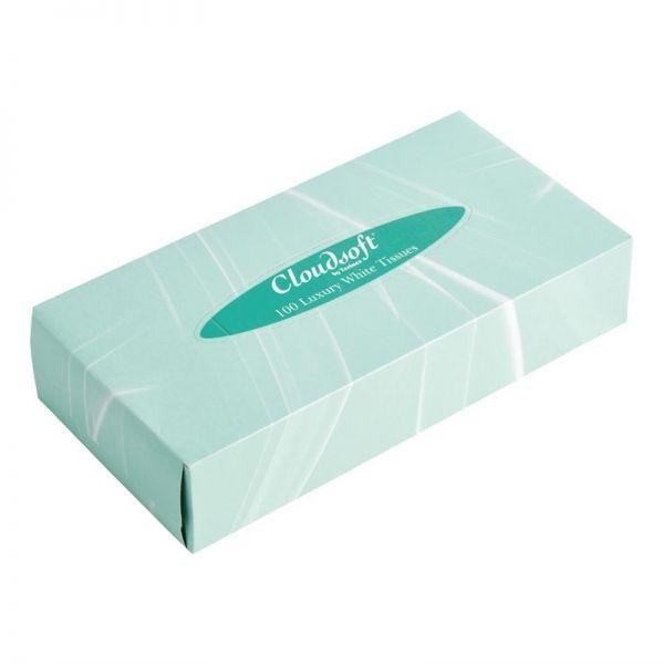 Weiße Taschentücher für rechteckige Box; Inhalt: 36 Stück