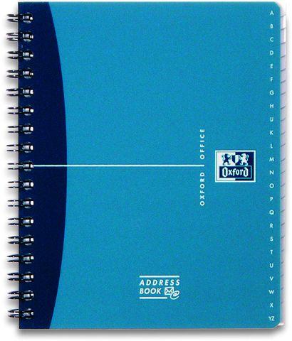 Adressbuch OFFICE, A5, 4farb. sort.
