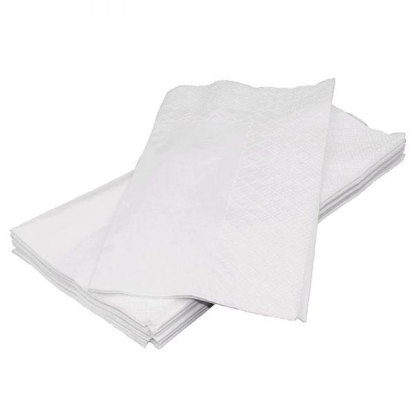 Fiesta Dinner-Papierservietten weiß 40cm x2000