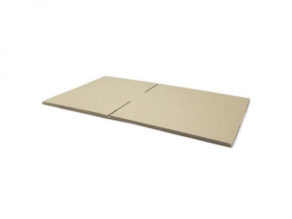 10 Stück: 400x300x100 mm zweiwellige Kartons