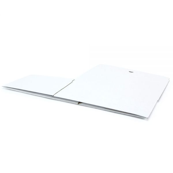 20 Stück: 305x215x125 mm Automatik-Karton A4, weiß