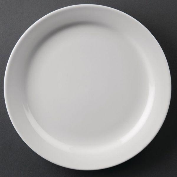 Athena Hotelware runde Teller mit schmalem Rand 16,5cm; Inhalt: 12 Stück