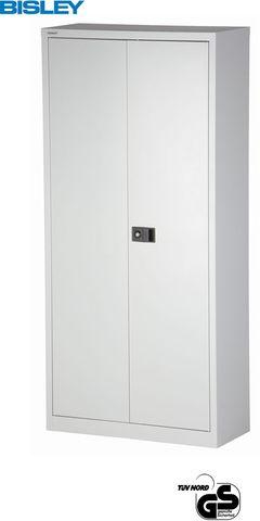 Akten-/Garderobenschrank Universal Flügeltürenschrank, 5OH, lichtgrau