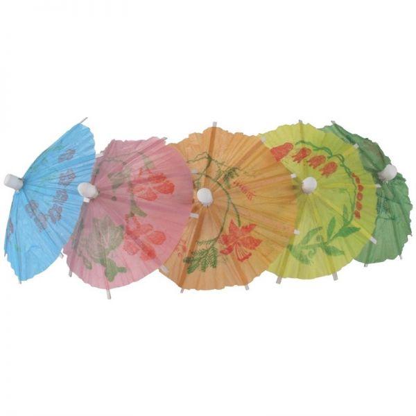 Papierschirmchen in verschiedenen Farben 17cm; Inhalt: 144 Stück