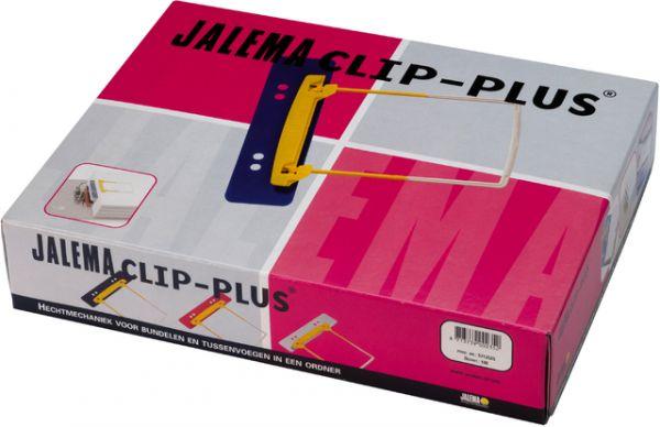 Abheftbügel JalemaClip Plus, Füllh.: 50 mm, mit Heftstreifen, sortiert