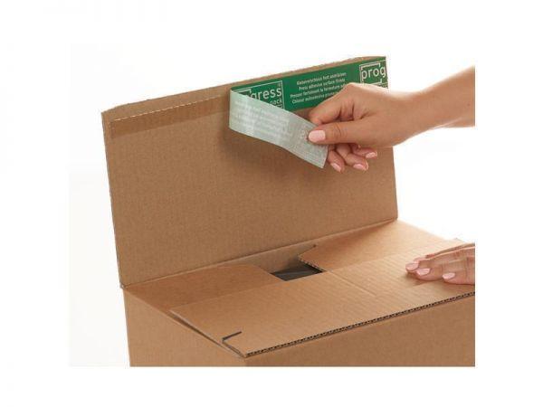 20 Stück: 250x155x110 mm Wiederverschließbare Kartons