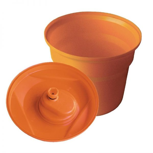 Dynamic Salatschleuder mit abschließbarem Deckel 20 Liter