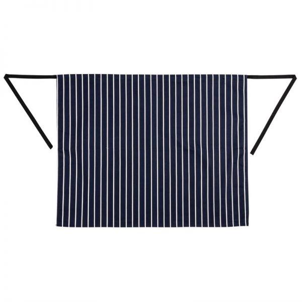 Whites Küchenschürze blau-weiß gestreift