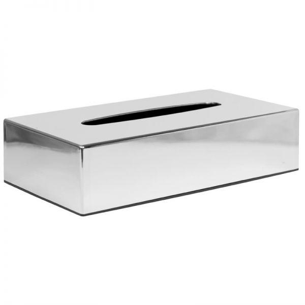 Bolero Taschentuchbox rechteckig Chrom