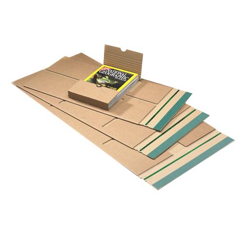 20 Stück: 350x260x0-70 mm C4 Buchverpackung