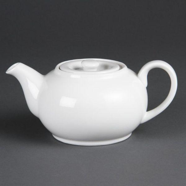 Olympia Whiteware Teekannen 85,2cl; Inhalt: 4 Stück