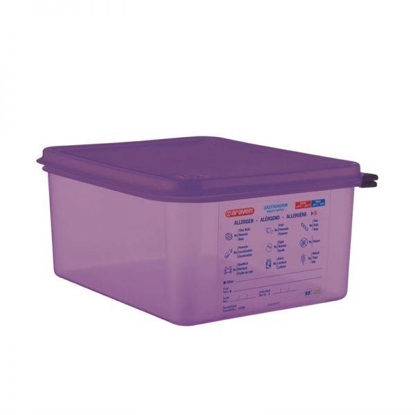 Araven GN1/2 Lebensmittelbehälter aus Silikon 10L