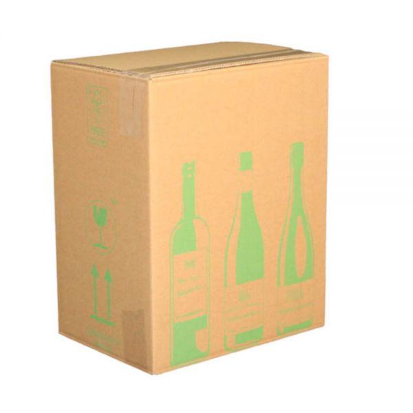 440 Stück: 305x212x368 mm 6er Flaschenkarton ECOLINE
