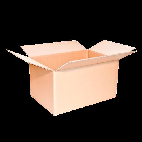 5 Stück: 650x350x370 mm zweiwellige Kartons