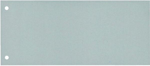 Trennstreifen, Karton (RC), 190 g/m², 24 x 10,5 cm, grau