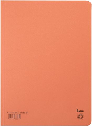 Aktendeckel, Karton (RC), 250 g/m², A4, 23,5 x 32 cm, orange