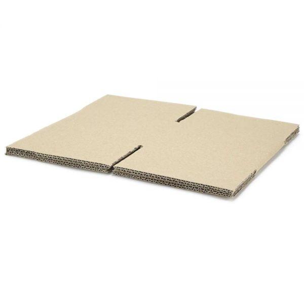 10 Stück: 165x160x100 mm zweiwellige Kartons