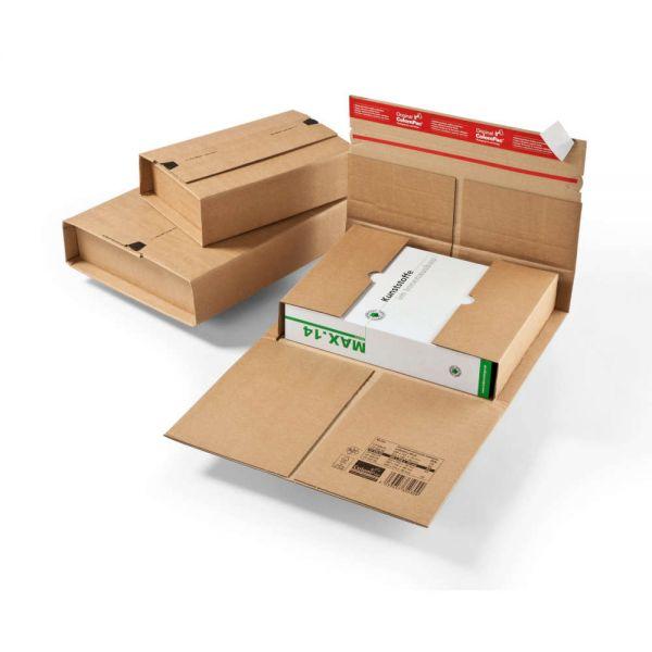 20 Stück: 305x230x0-92 mm Universal-Versandverpackung A4