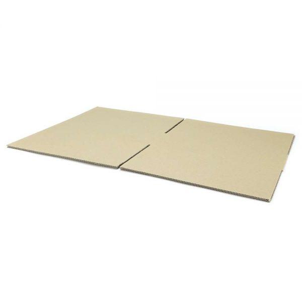 10 Stück: 350x350x100 mm einwellige Kartons