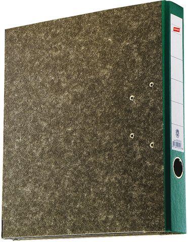 Ordner, Wolkenmarmorpapier (RC), SK-Rückenschild, A4, 50mm, grün