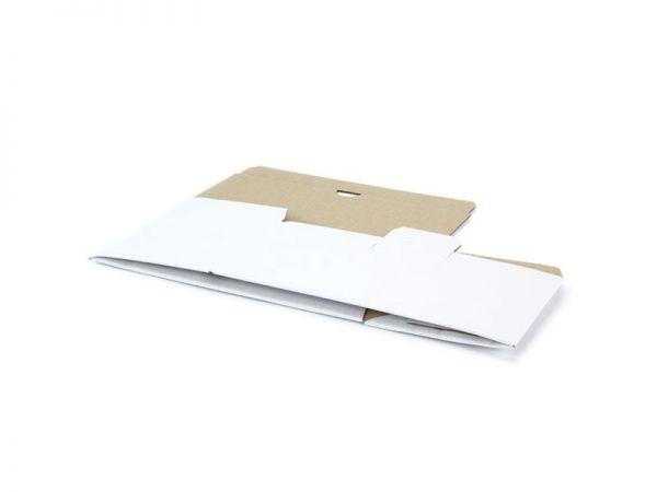 10 Stück: 230x110x110 mm Automatik-Karton, weiß