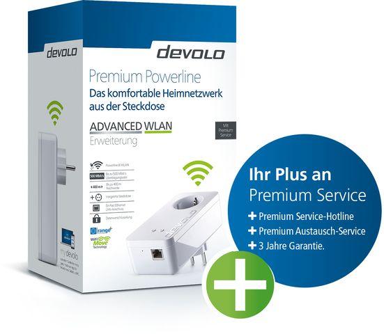 Adapter Premium Powerline ADVANCED WLAN, Erweiterung