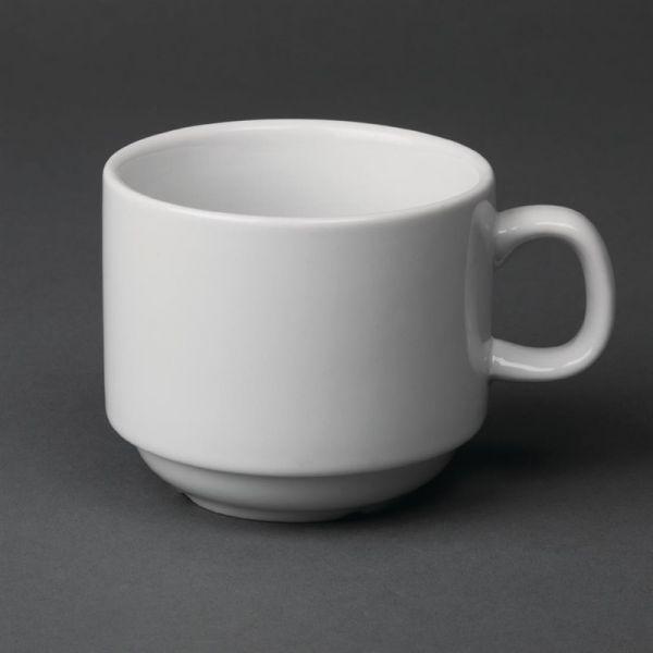 Olympia Whiteware Teetassen 20cl; Inhalt: 12 Stück